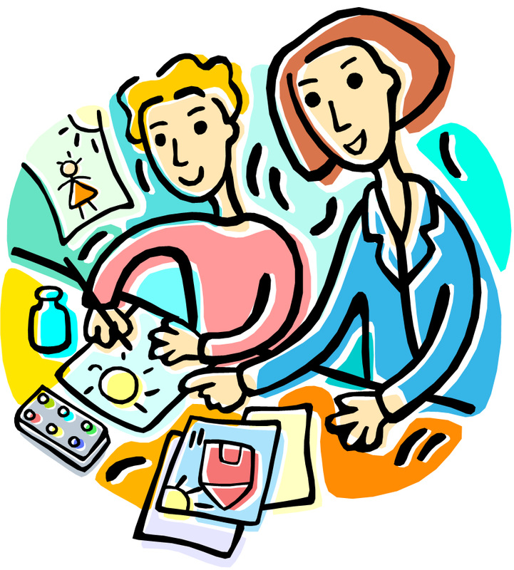 sit with your students art ed guru rh artedguru com Science Clip Art Self-Discovery Clip Art
